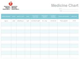Daily Pill Chart 11 Daily Medication Schedule Templates Word Excel Formats