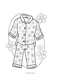 Pajama Coloring Page Free Coloring Pages On Art Coloring Pages