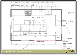 Kitchen Layout With Island Kitchen Layout Dimensions