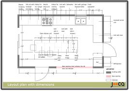 Restaurant Kitchen Layout Kitchen Layout Dimensions