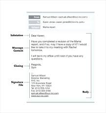 Professional Email Writing Format 8 Best Images Of Template