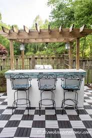 how to install deck tiles for a quick