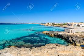beach es trenc beautiful coast of mallorca spain stock photo 82811142