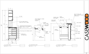 kitchen detail drawing pdf kitchen cabinet plans