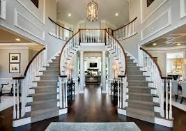 two story foyer chandelier stupendous with hanging lighting and wooden handrails decorating ideas 12