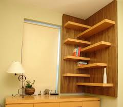 View in gallery Elegant floating walnut shelves perfect for every room