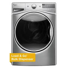 How Does A High Efficiency Washer Work Whirlpool 45 Cu Ft High Efficiency Front Load Washer With Steam