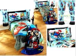 mario kart bedding super bed sheets kids boys super bedding bed in a bag comforter set
