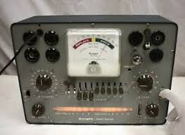 Details About Vintage Knight 600 Tube Tester With Roll Chart Tested Against A Hickok 6000a