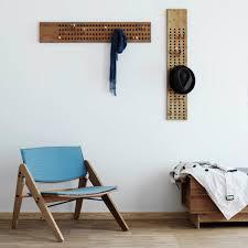 personalised oak coat hooks rack by mijmoj design