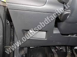 obd2 connector location in seat ibiza 2002 2008 outils obd facile seat ibiza 3 fuse box