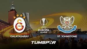 Galatasaray St. Johnstone maçı ne zaman saat kaçta hangi kanalda? İşte GS  St. Johnstone 11'leri! - Tüm Spor Haber