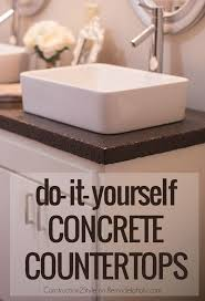 Concrete Overlay Countertops Diy 626 Best Concrete Epoxy Kitchen Countertops Images On Pinterest