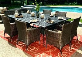 outdoor table for 10 full size of outdoor dining sets for 8 person table patio image