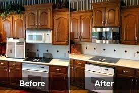 kitchen cabinet stain kit before after refinishing kitchen cabinets kit with toasted almond painted finishing kitchen cabinets small black kitchen cabinet