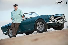 CW Koellman and Mimi, his 1964 Triumph TR4 in gorgeous Valencia Blue, 360  West Magazine, March 2014 #texas #cars #triumphtr4 #co… | West, Antique  cars, Vintage cars