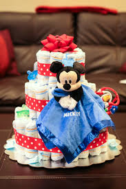 Mickey Mouse BabyShower Ideas  My Practical Baby Shower GuideBaby Mickey Baby Shower Cakes