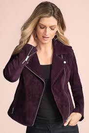 grace hill suede jacket