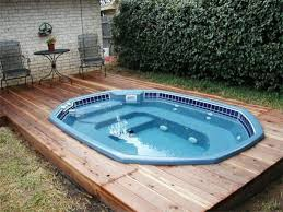 custom semi inground pool kits