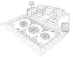 What Size Rug For Living Room Size And Fitting Guide Persianrugscomau