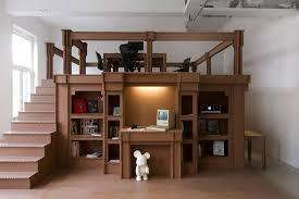 nothing cardboard office cardboard office