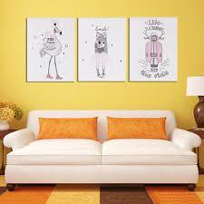bedroom bedside hanging paintings print