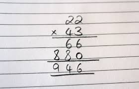 Image result for 2 digit multiplication
