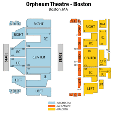 Orpheum Boston Seating Chart Details About Dream Theater Ticket Distance Over Time Tour Orpheum Theater Boston Ma