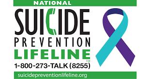 Image result for suicide prevention lifeline