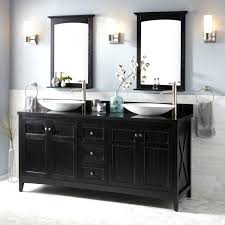 bathroom cabinet redo. Black Bathroom Cabinet Vessel Double Sink Vanity Paint Redo