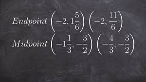 Endpoint Formula Finding One Endpoint When Given A Midpoint And Endpoint