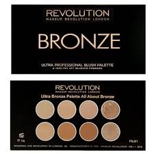 makeup revolution blush contour palette all about bronzed
