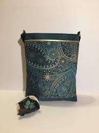 Paisley Bag Designer Golden Green Crossover Bag Crossbody Handbag Cross Body