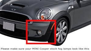 oem fit mini cooper 15w led daytime running lights fog lamps kit mini cooper oem fit led daytime running lights