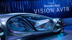 I saw it earlier this year in germany, but wasn't able to see it drive. Photos Mercedes Benz S Concept Car Inspired By Avatar