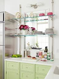 Hanging Metal And Glass Shelves Decorao Vidro Pinterest Inside Glass  Kitchen Shelves (#5 of