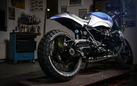 bmw r ninet track grinder by urban motor motorcycle com news