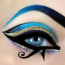 egyptian eye makeup using white eyeliner katy perry dark horse makeup tutorial the 3 main looks dyna you egyptian eye makeup top 10 makeup tutorials for