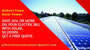 Recommend Best Solar Installation Companies in Gilbert Town Arizona