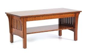 mission coffee table mission coffee table in white oak amish mission style coffee table