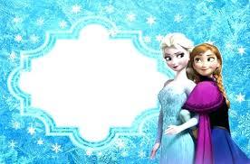 Frozen Birthday Invitations Frozen Invitation Template