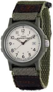 timex men s t49860 intelligent quartz adventure series tide temp timex men s expedition camper green fast wrap velcro strap watch