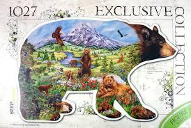 """Контур-<b>пазл</b> ""<b>Медведь</b>"" (83501)"" купить <b>пазлы</b> многоэлементные ..."