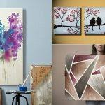 painting canvas ideasdiy painting canvas best 25 diy canvas art ideas on pinterest diy