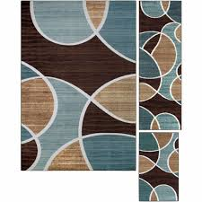 area rugs mainstays payton 3 piece rug set with faux