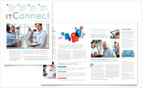 Sample Microsoft Newsletter 7 Documents In Word