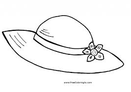 Small Picture Hat Coloring Pages To Download And Print For Free in Hats Coloring