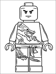 Lego Ninjago Kleurplaat 11