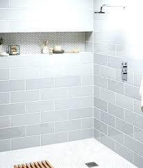 built in shower shelves corner best recessed shelf ideas on te subway with ceramic decor storage