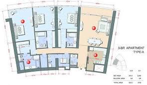 3 bedroom apartments plan. 3 Bedroom Apartment Floor Plans Beautiful Decoration Oasis Beach Tower Dubai:5 Star Luxury Serviced Apartments Plan